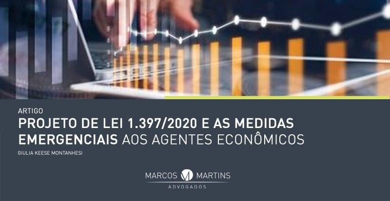 marcos martins artigo Projeto de Lei 1.3972020 e as medidas emergenciais